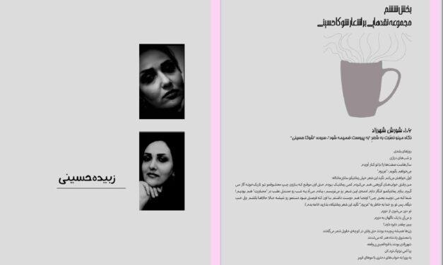 """از خیابانهای سرم تا خیابانهای سرم (گفتگویی با شعر """" خیابانهای سرم """"، سروده ی شوکا حسینی) – فرزان سجودی"""